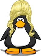 The Blonde Beehive from a Player Card