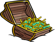 Yellow Snorkel treasure chest