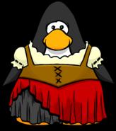 Red Pirate Dress