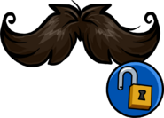 Curly Moustache unlockable icon