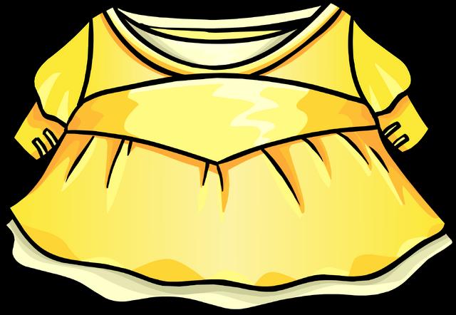File:Gold Princess Dress.png