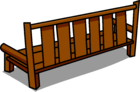 Wood Bench sprite 004