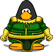Loki Armor from a Player Card