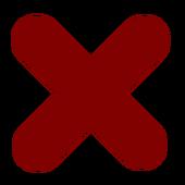 Remove Item icon