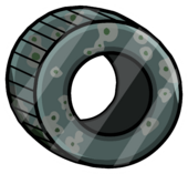 Tire Home Pin icon
