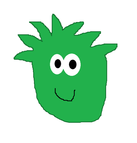File:GREEN PUFFLE DRAWING.png
