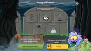 Halloween Party 2016 app interface page 6
