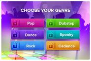 SoundStudio app music genres sneak peek
