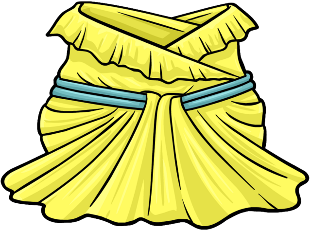 File:Buttercup Ball Gown clothing icon ID 4196.png