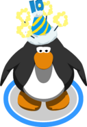 10th Anniversary Hat in-game