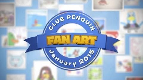 Featured Fan Art January 2015 - Disney Club Penguin