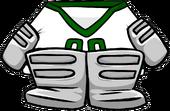 Green Away Goalie Gear icon