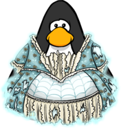 Masquerade Ball Gown from a Player Card