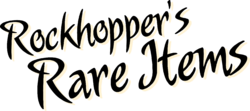 Rockhopper's Rare Items logo