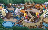 Wild Puffle Treehouse Pin location