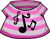 Pop Music Shirt icon