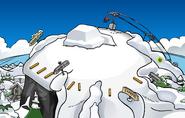 Snow Sculpture Showcase Ski Hill