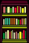 Burgundy Bookshelf sprite 003