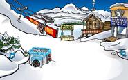 Great Snow Race construction Ski Village