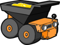 Puffle Care icons Play Super dump truck