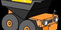 Gold Puffle's Dump Truck