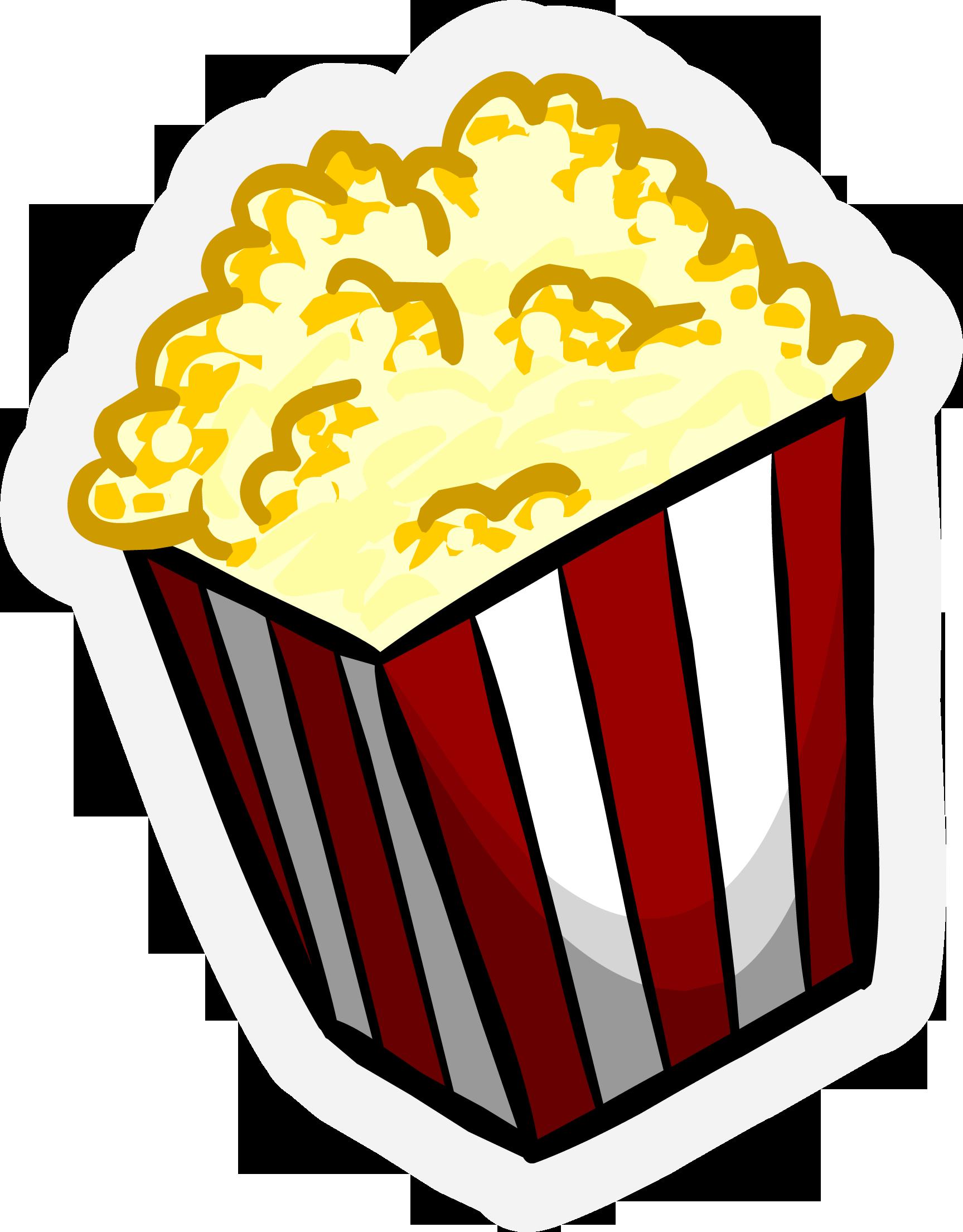 Popcorn Pin  Popcorn
