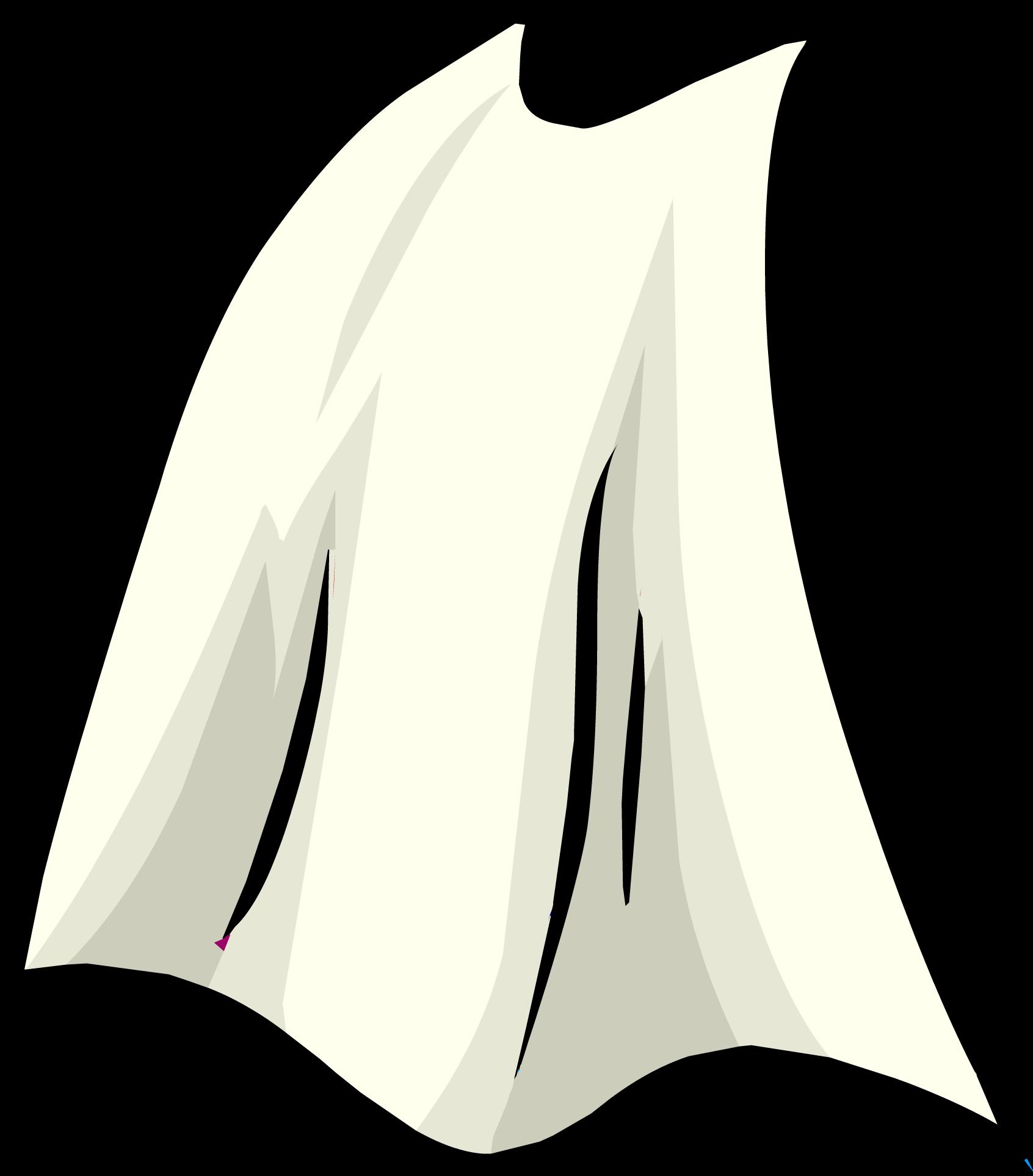 white cape club penguin wiki fandom powered by wikia Superhero Cape Outline Superhero Cape Coloring Page