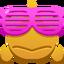 Emoji Fish Wearing Shades