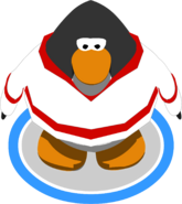 Red Away Hockey Jersey in-game