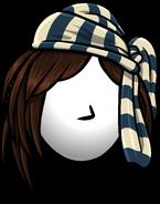 Striped Pirate Bandanna