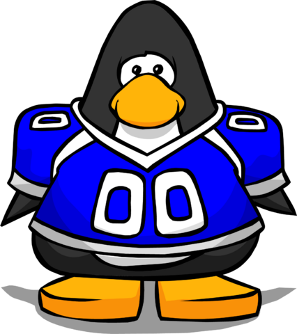 File:Blue Football Jersey from a Player Card.PNG