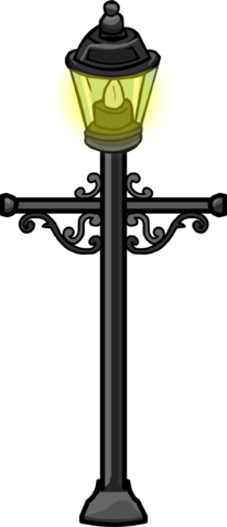 File:Wrought Iron Lamp Post.PNG
