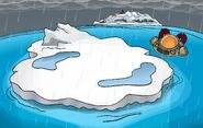 Great Storm of 2010 rain Iceberg
