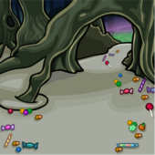 Candy Forest Path