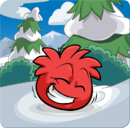 Puffle Party 2013 Transformation Puffle Red