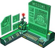 EPF Command Room PSA missions terminal