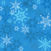 Snowflakes Background 2014