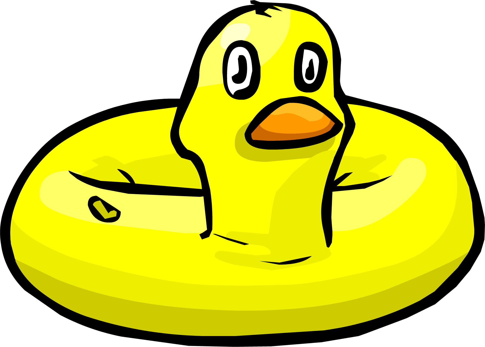 Inflatable Duck Club Penguin Wiki Fandom Powered By Wikia
