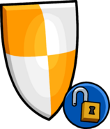 Orange Shield unlockable icon