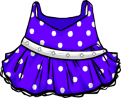 PurplePolka-dotDress