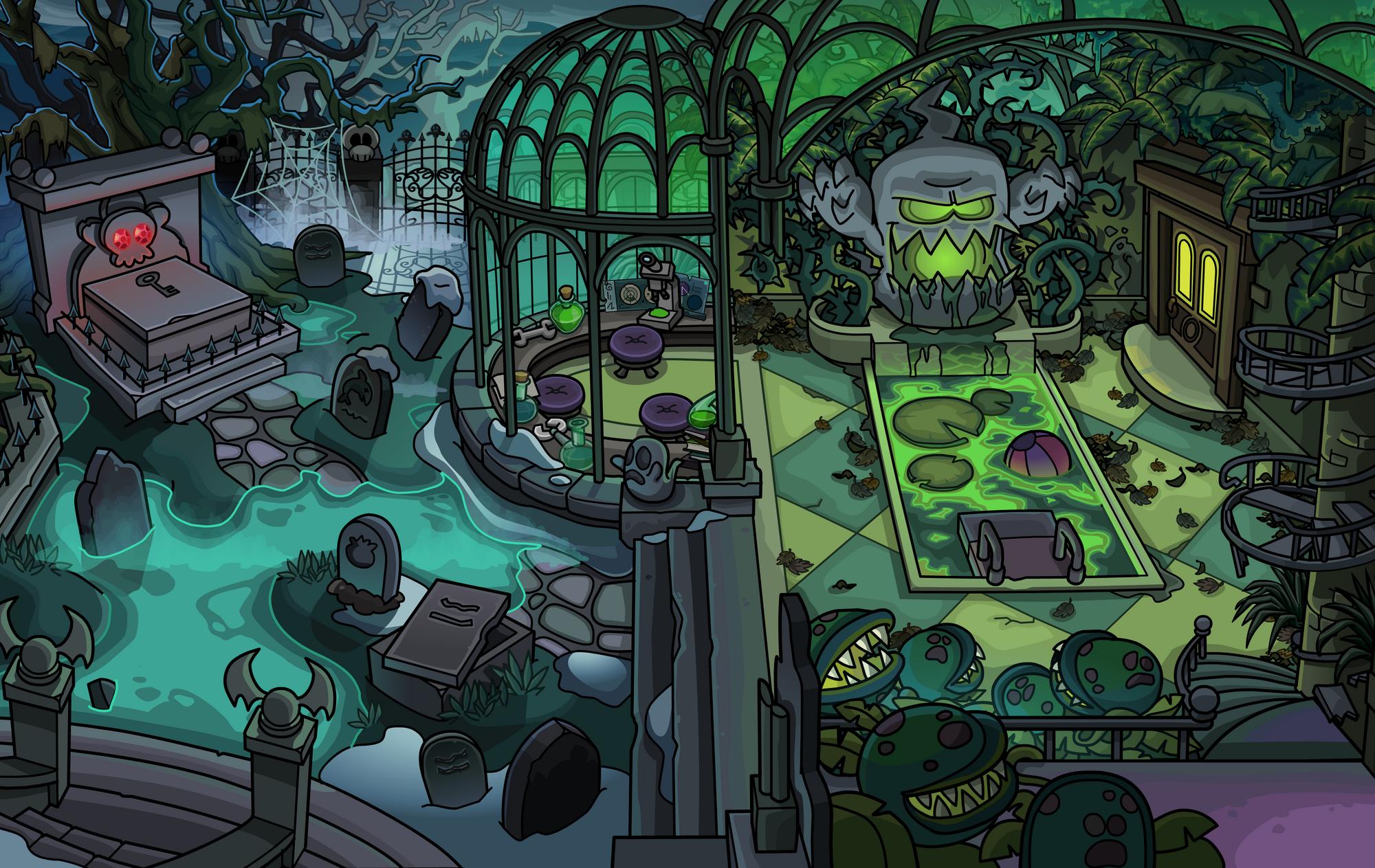 graveyard club penguin wiki fandom powered by wikia