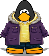 Purple Parka Player Card