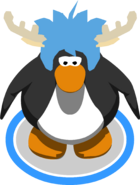 Deer Puffle Cap in-game