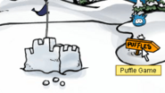 Puffle Roundup Snow Forts February 06