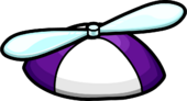 Purple Propeller Cap icon