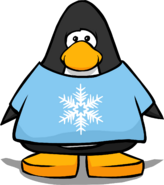 Snowflake T-Shirt from a Player Card