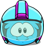 Quasar Helmet in Puffle Interface