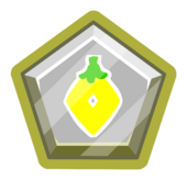 Yellow O'berry Pin icon