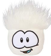 Whitepuffle plush