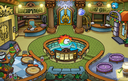 Blue Crystal Puffle Pin location 2014